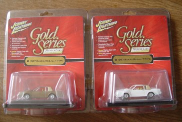 JL Gold Series Muscle Cars 1987 Buick Regal T-type