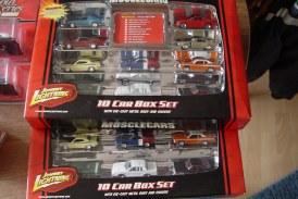 Johnny Lightning Muscle Cars 10 Car Box Set
