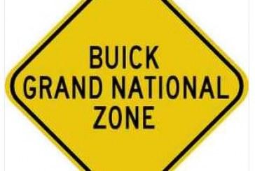 Turbo Buick Regal Garage Signs