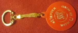 buick service key chain