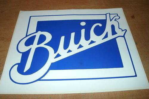 buick wall decal