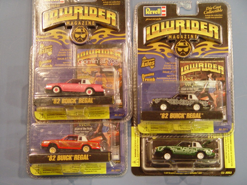 Revell Lowrider Magazine 82 Regal