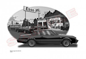 buick grand national print