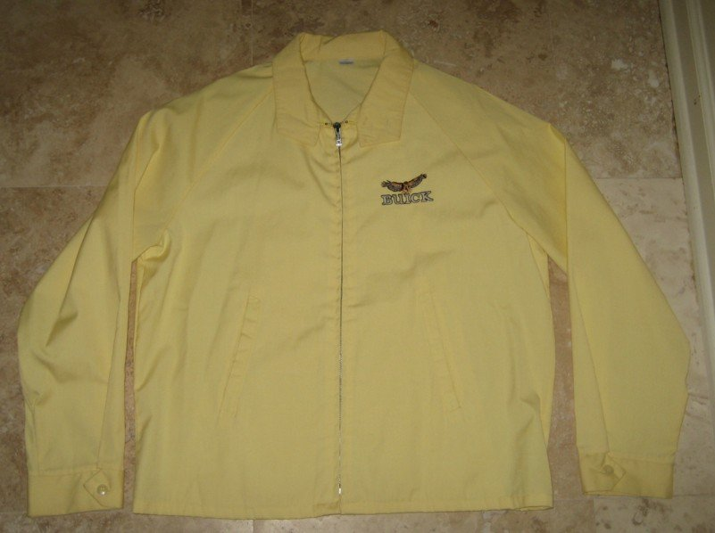 1980s buick racing jacket