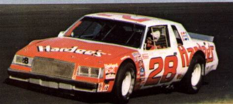 Bobby Allison 1981 #28 Hardee's Regal