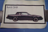 1987 Buick GNX Posters Prints