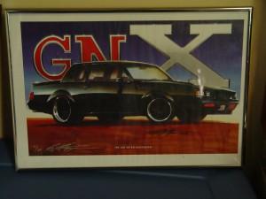 buick gnx artwork