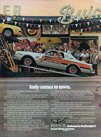 Buick Century pace car