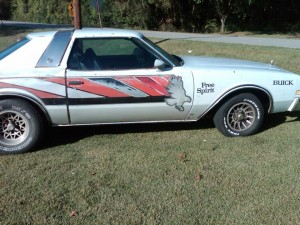 1976 buick century indy pace car replica