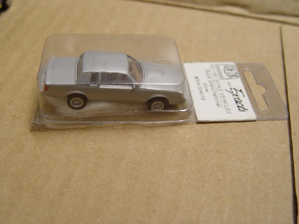 con-cor silver buick regal
