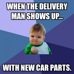 buick parts delivery