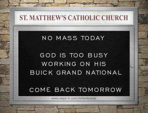 Buick church board