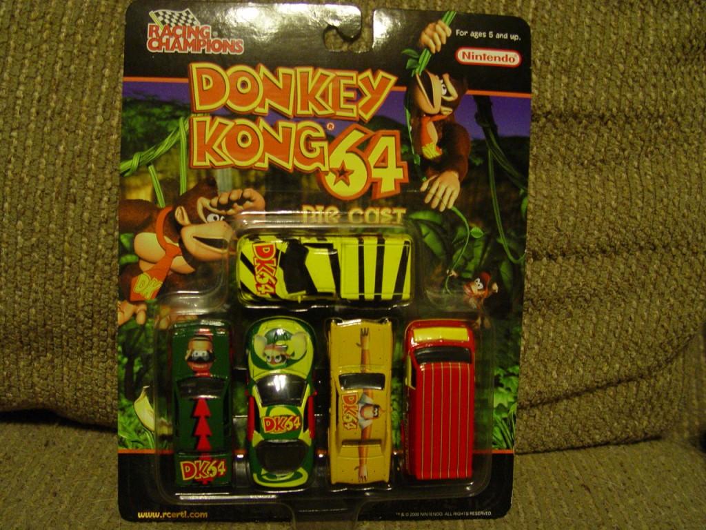 racing champions donkey kong 5 pack