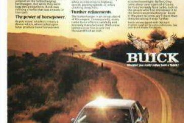Late 1970s Buick Regal Advertising