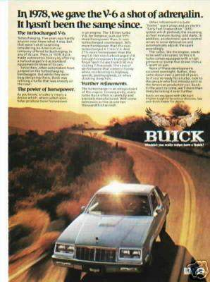 1978 buick regal turbo