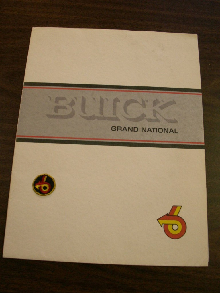 1982 buick press kit 1