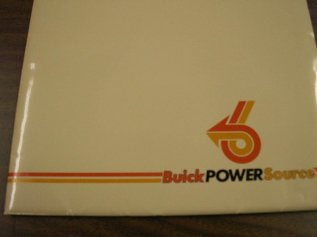 1984 buick press kit 1