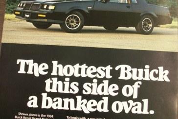 1984 Buick Press Kit