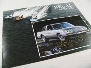 1986 Buick Regal Brochure