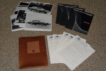 Buick Press Kits