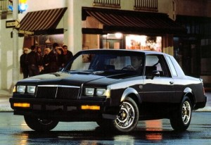 1986 buick gn