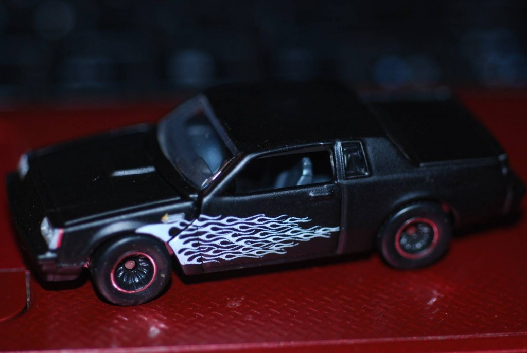 Buick Grand National Flames Milezones Diecast
