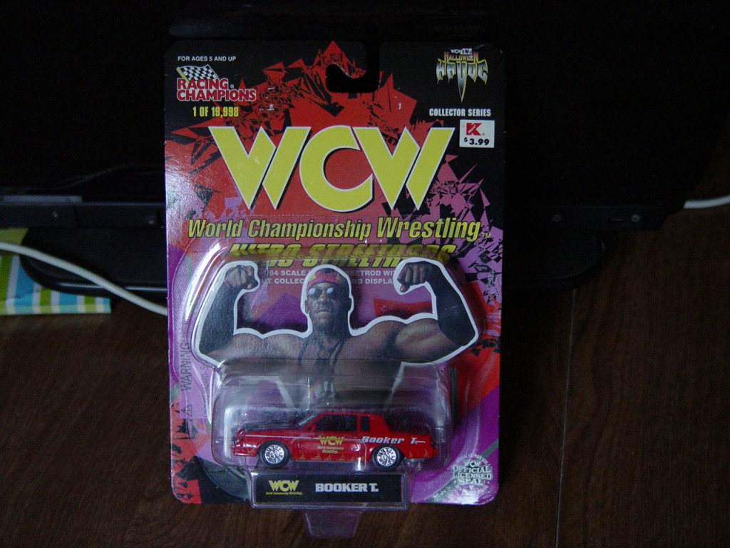 RC WCW wrestling Buick Grand National diecast