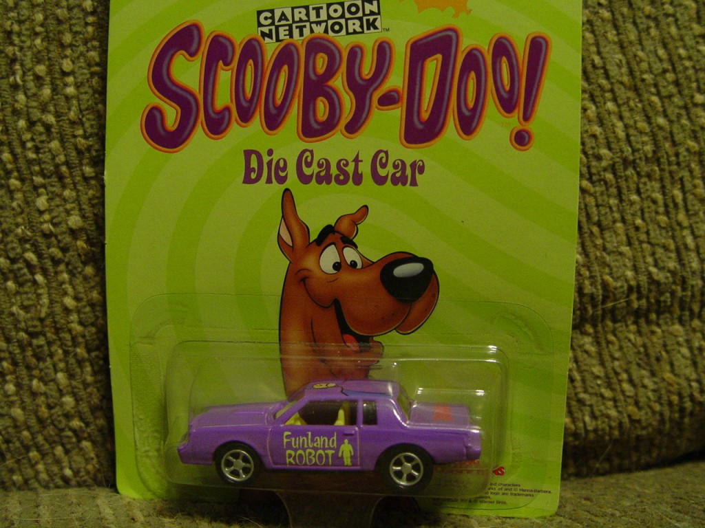 racing champions scooby doo