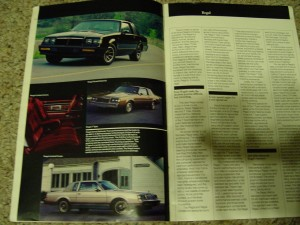 1985 buick guide