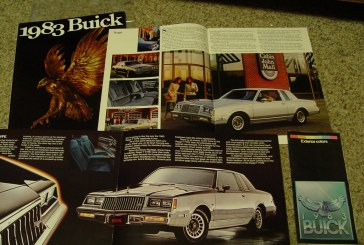 1983 Buick Regal Buyers Guide Brochures