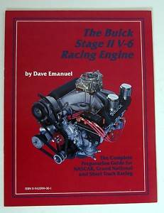 The Buick Stage 2 II V-6 Racing Engine Book