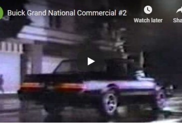 Buick Regal Grand National TV Commercial