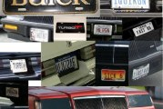 Custom Buick License Tags