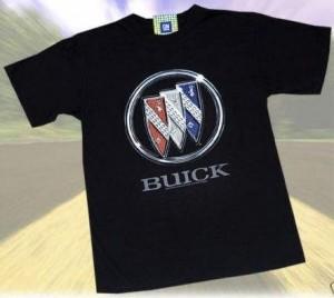 buick tri shield black t-shirt