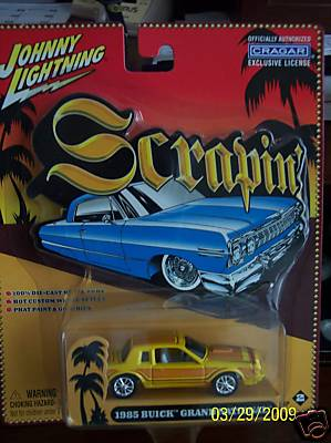 johnny lightning scrapin buick grand national