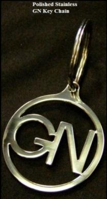stainless GN keychain