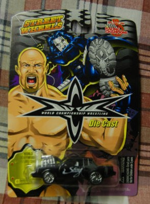 racing champions WCW sting buick diecast car