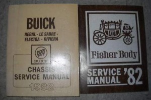 1982 Buick Service Manual