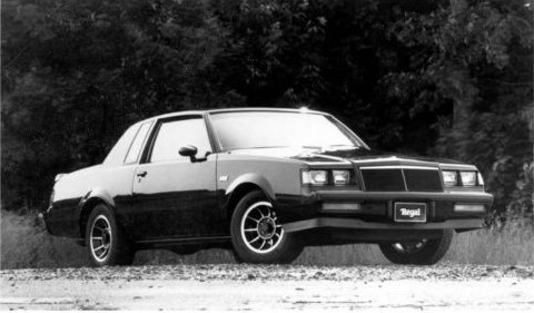 1984 Buick Regal Grand National Factory Photo