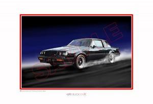 1987 Buick GNX print