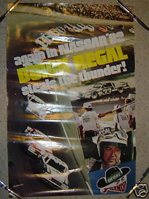 82 buick nascar poster