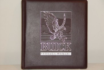 1984 Buick Marketing Manual Dealer Album