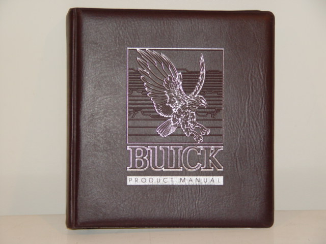 1984 buick product manual