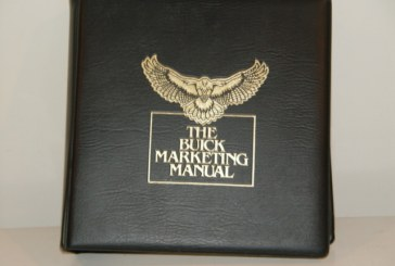 1985 Buick Marketing Manual Dealer Album