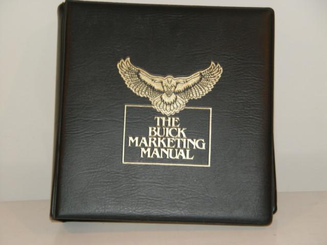 1985 buick marketing manual
