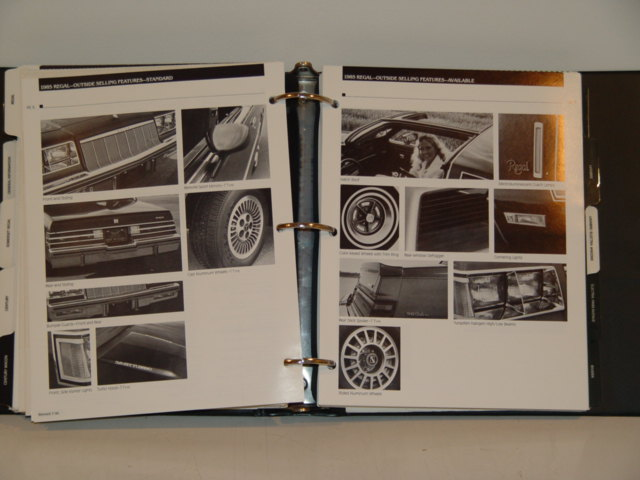 1985 buick dealer album
