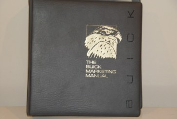 1986 Buick Marketing Manual Dealer Album