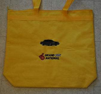 Buick Grand National Tote Bag