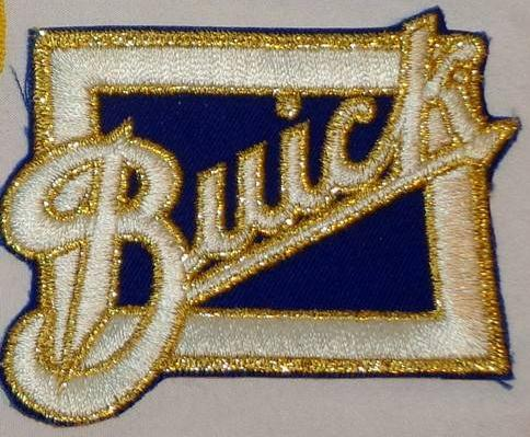 Buick Script Logo Dealership Patch