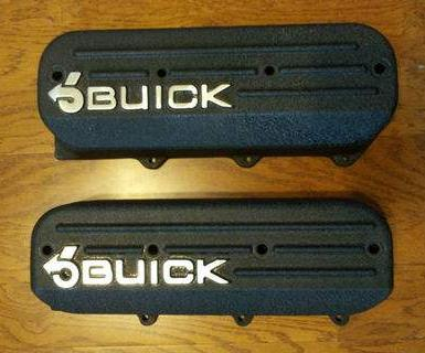 Buick Stage 2 V6 Valve Covers